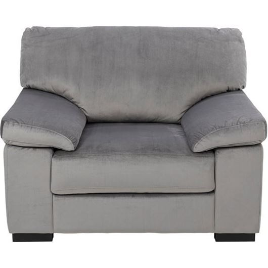 Picture of SAN chair microfibre silver