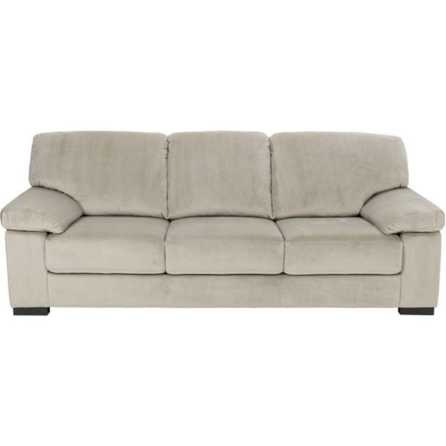 Picture of SAN sofa 3 microfibre taupe