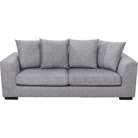 Picture of PASO sofa 3 silver