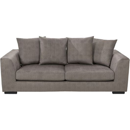 PASO sofa 3 brown