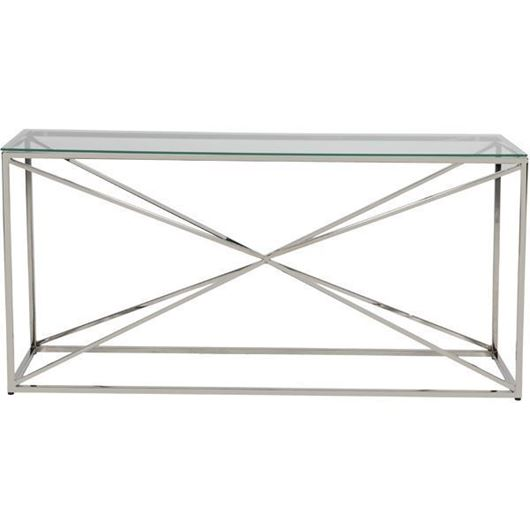 Picture of KOON console 160x45 clear/nickel
