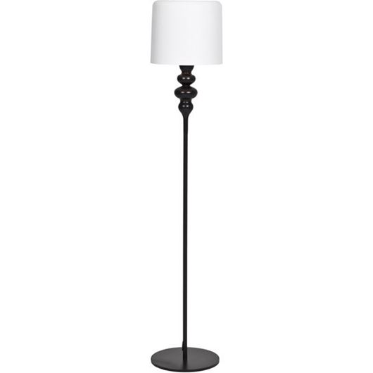 Picture of EVE floor lamp h165cm black/white