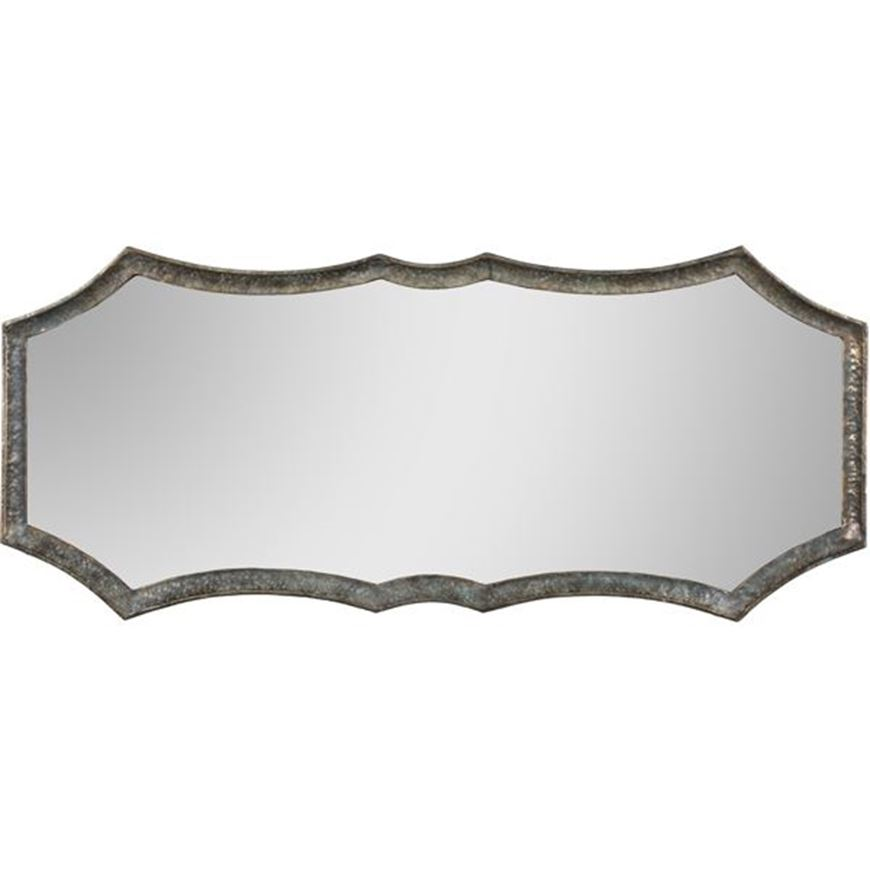 Picture of AMINA mirror 127x54 green