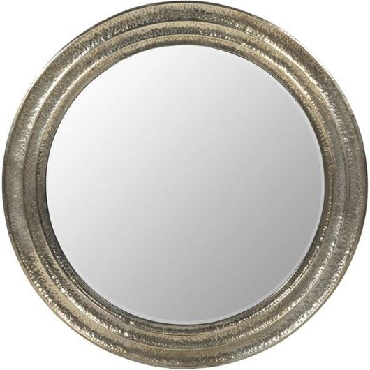Picture of MAGOLA mirror d171cm silver