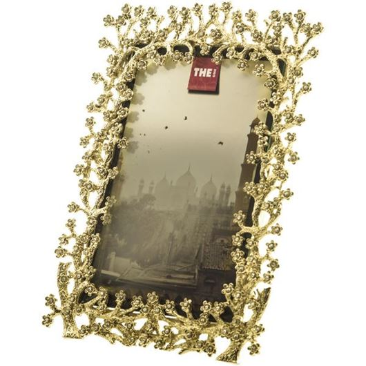Picture of ABELIA photo frame 10x15 gold