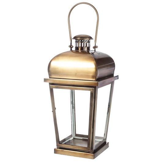 Picture of CYRUS lantern h61cm brass