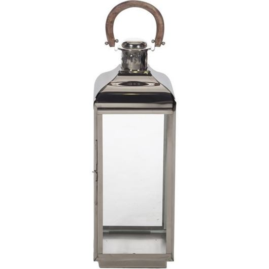 Picture of ARABELLA lantern h76cm nickel