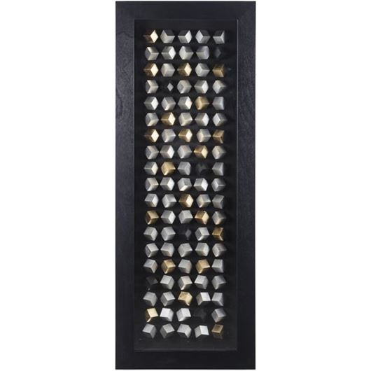 Picture of ANAITA wall decoration 60x160 black