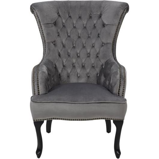 Picture of TERIA armchair microfibre silver