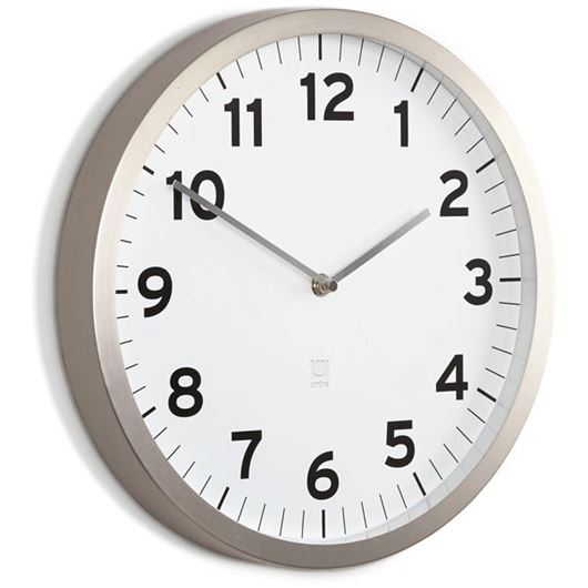 Picture of ANYTIME clock d30cm white