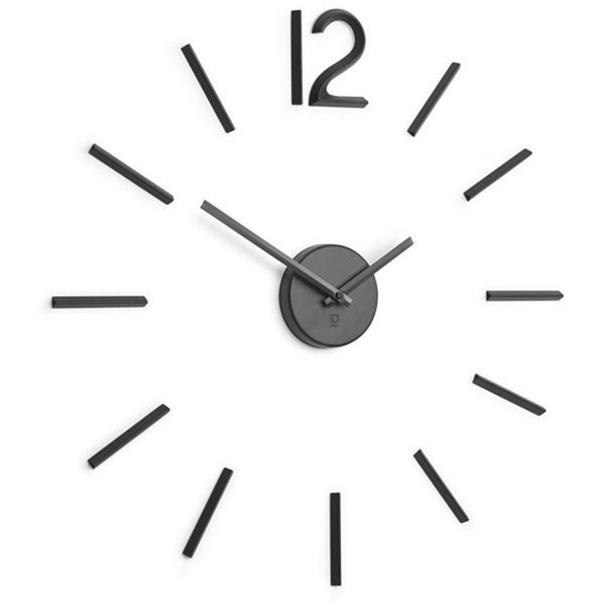 BLINK clock d33cm black