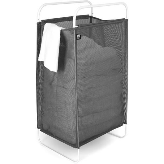 Picture of CINCH laundry hamper grey/white