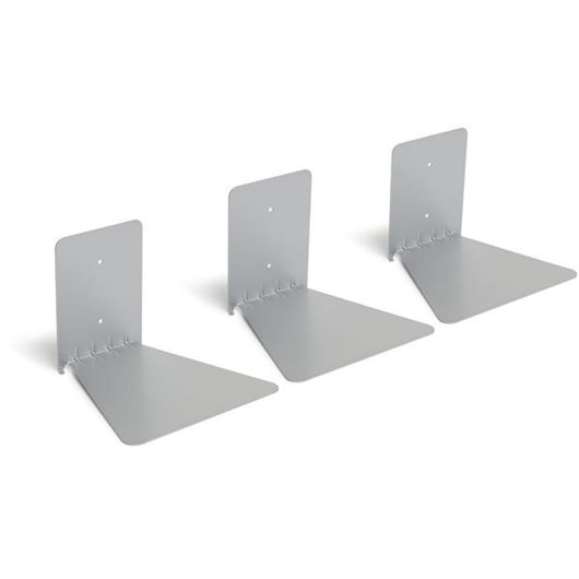 Picture of CONCEAL book shelf large set of 3 silver