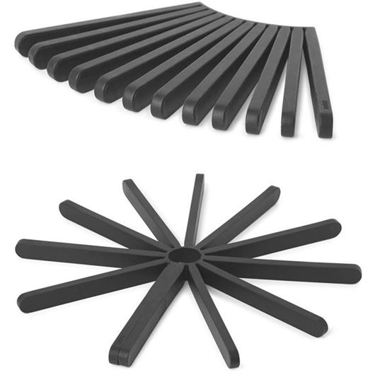 Picture of FANFARE trivet set of 2 black