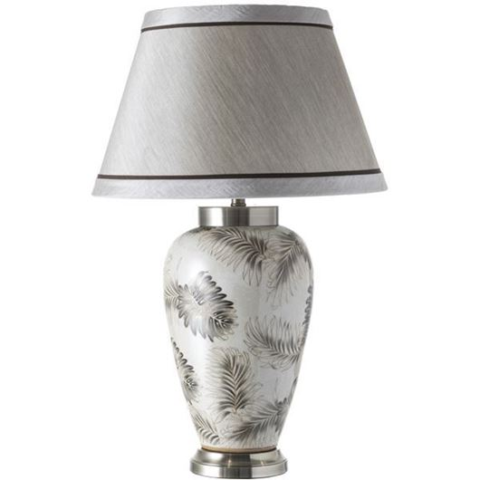 Picture of ILSA table lamp h72cm cream/multicolour
