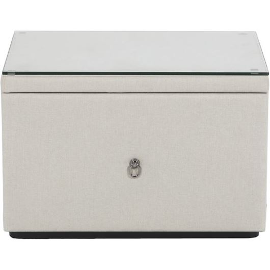 Picture of TOG bedside table white
