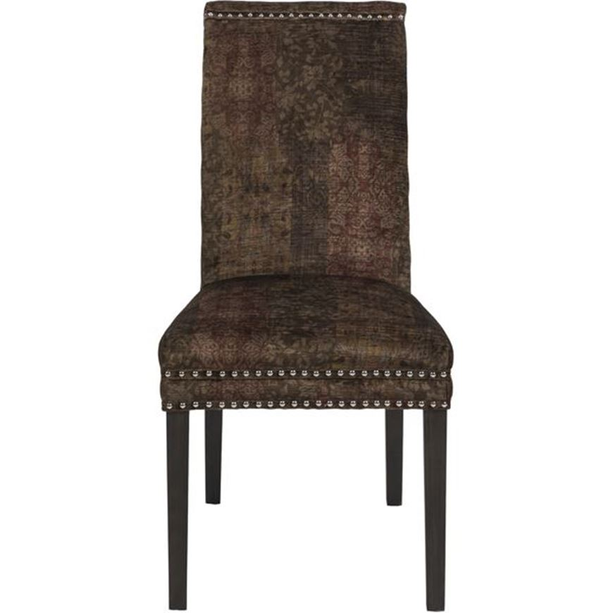 Picture of STONEA dining chair multicolour/grey brown