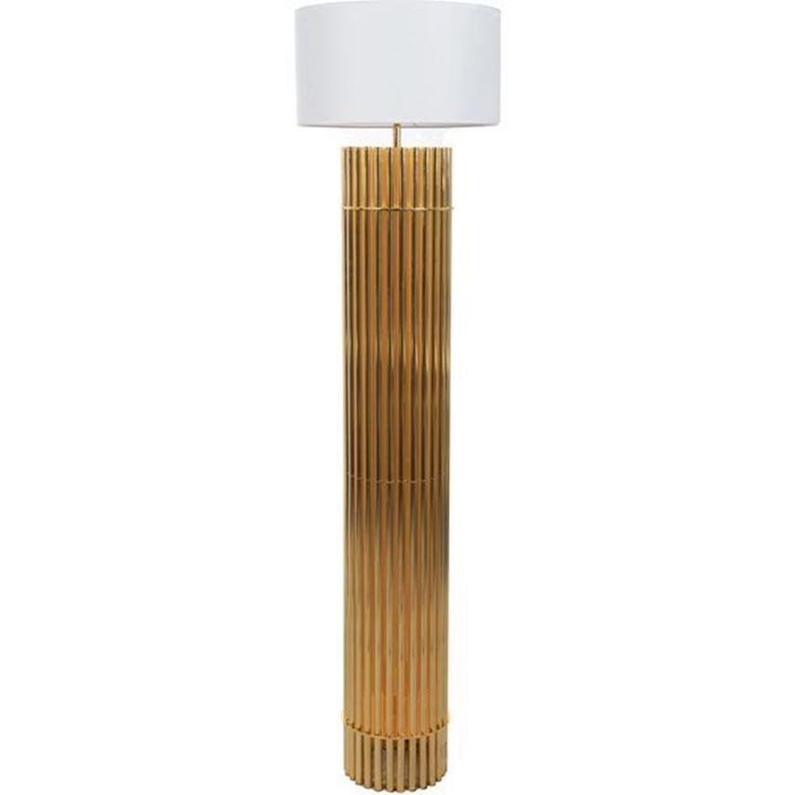 Sia Floor Lamp H185cm White Gold