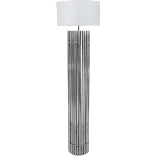 Picture of SIA floor lamp h185cm white/silver