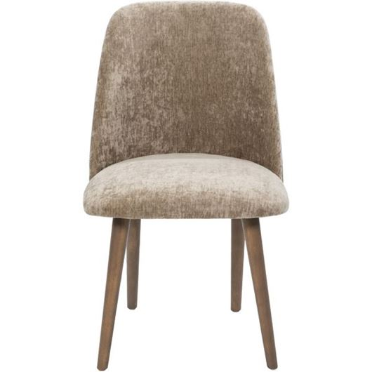 Picture of ZAK dining chair taupe/taupe