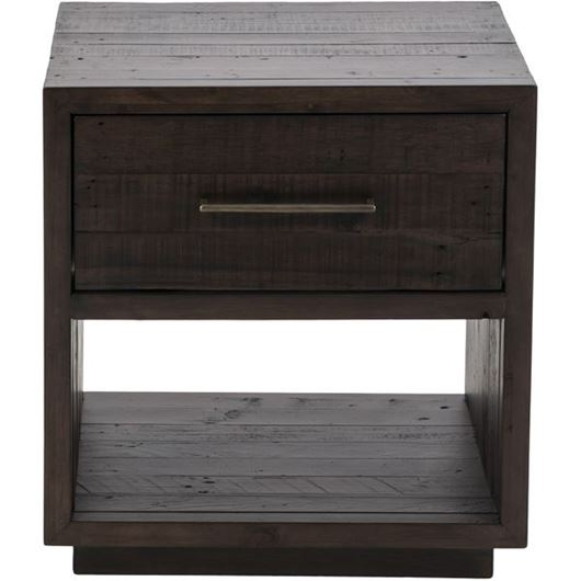 Picture of PRADO bedside table brown