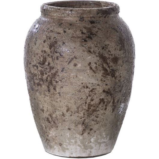 Picture of BETSY pot h31cm brown