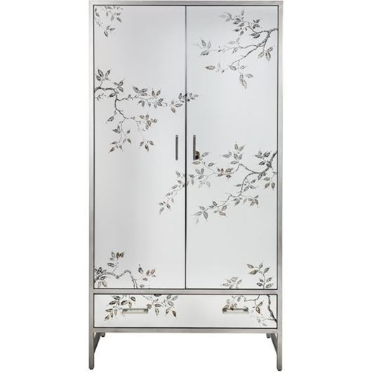 Picture of ROSLIN cabinet 203x103 clear/silver