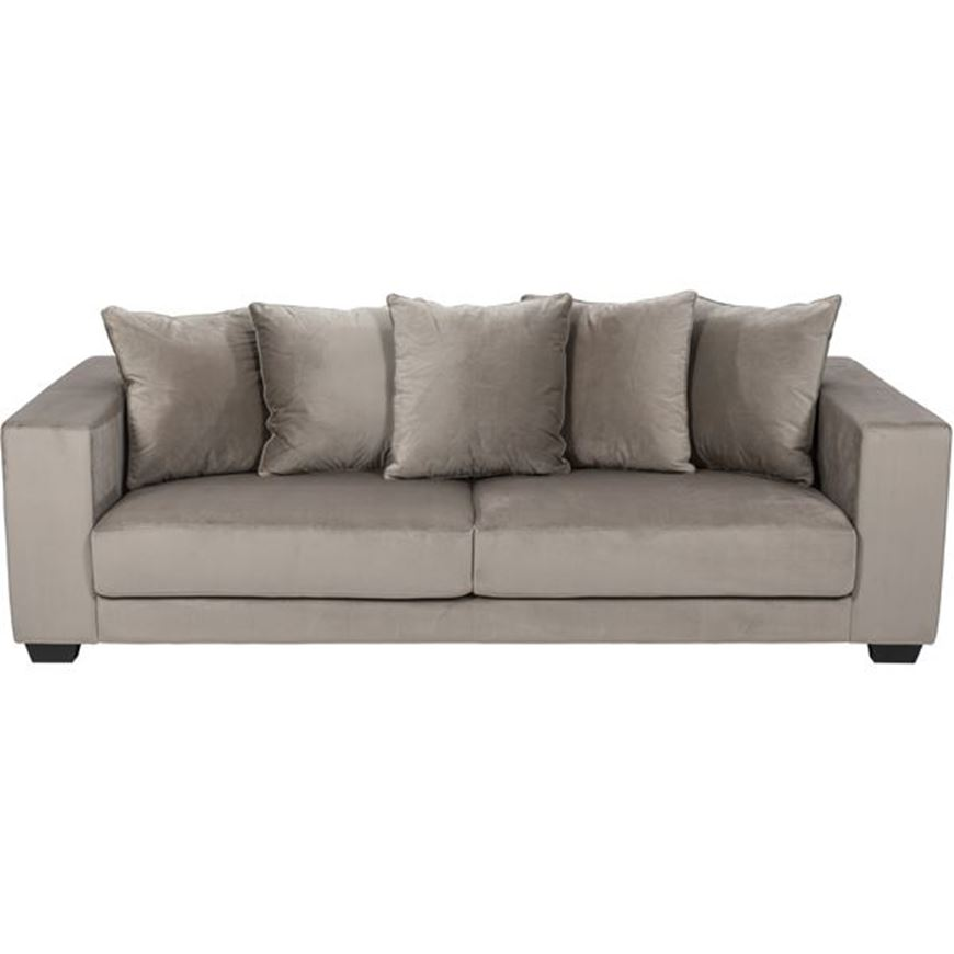Picture of SPUD sofa 3.5 microfibre taupe