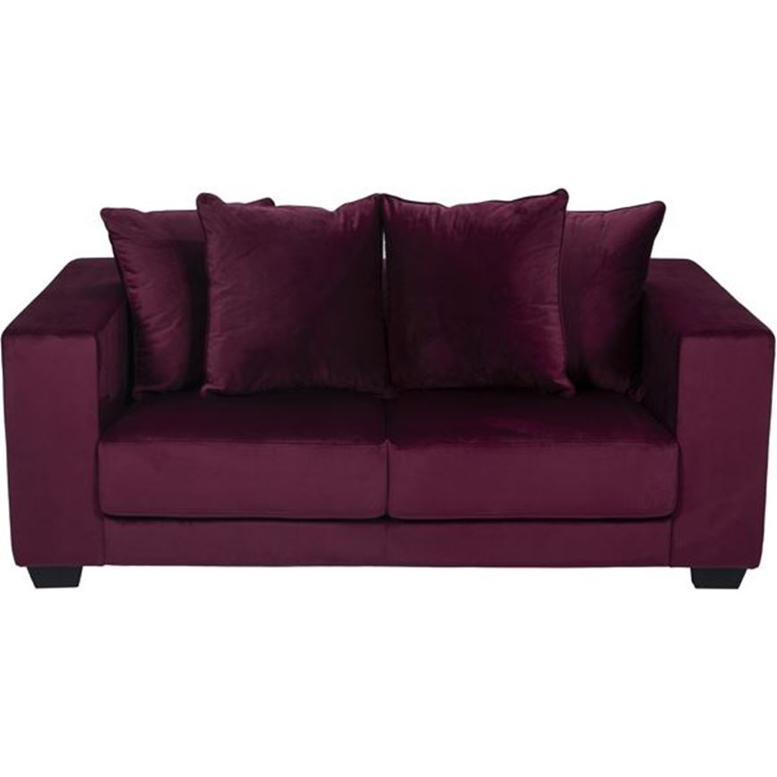Picture of SPUD sofa 2 microfibre red