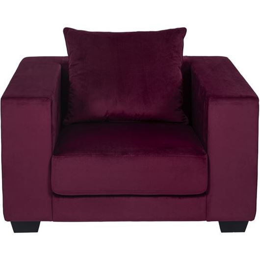 Picture of SPUD chair microfibre red