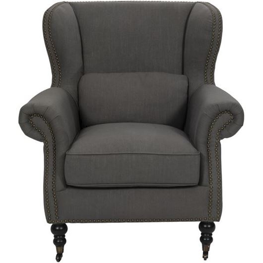 Picture of SKOL wing chair brown
