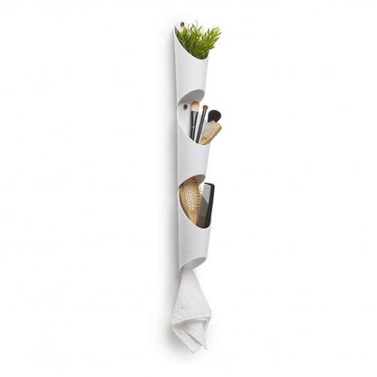 Picture of FLORALINK planter h25cm set of 3 white