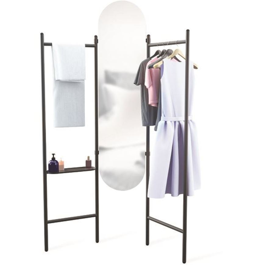 Picture of VALA mirror 180x121 black