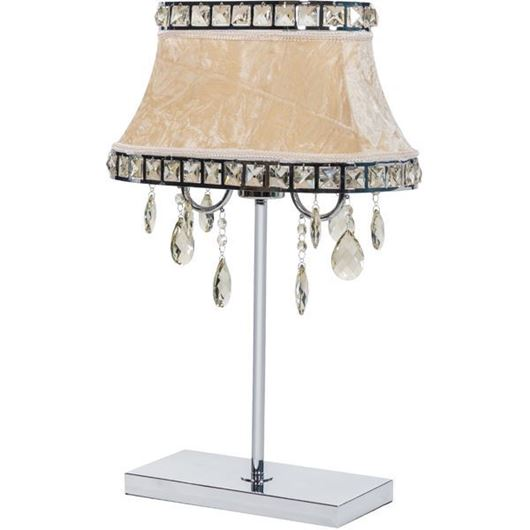 Picture of DORIS table lamp h60cm beige