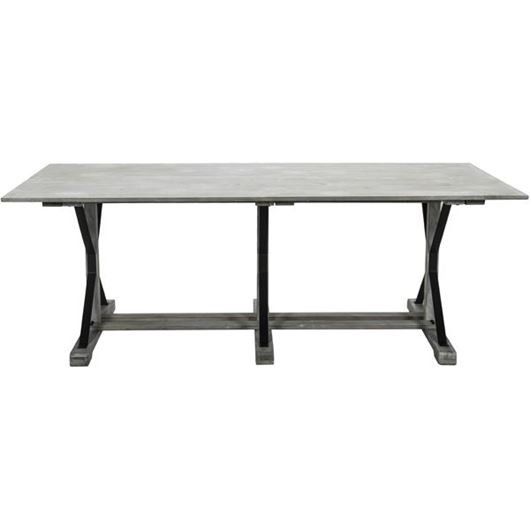 Picture of NETT dining table 220x100 grey