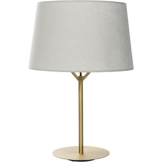 Picture of BERY table lamp h55cm beige/gold