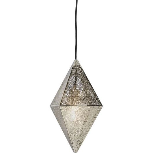 Picture of DIAMOND pendant lamp d25cm stainless steel