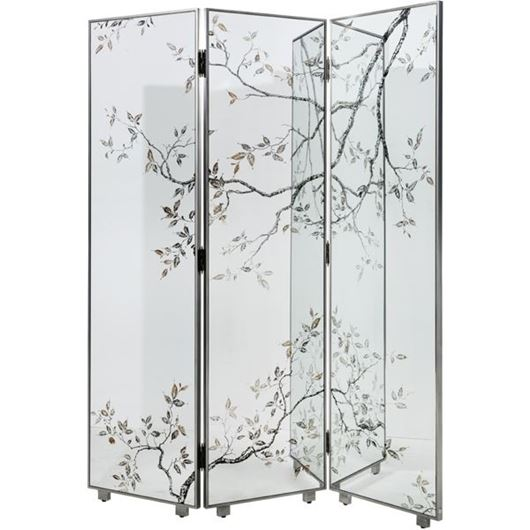Picture of ROSLIN floor screen 183x50 clear/silver