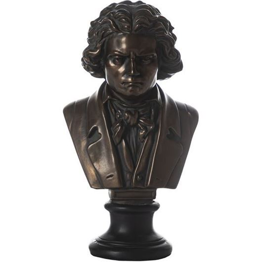 Picture of BEETHOVEN decoration h26cm copper