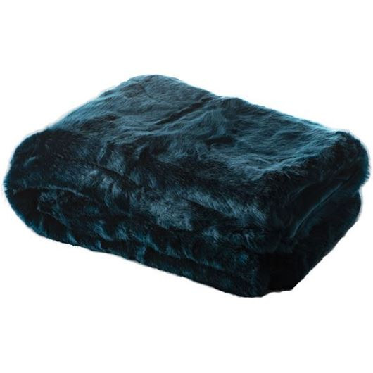 Picture of ORLA throw 130x180 blue