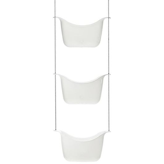 Picture of BASK shower caddy white
