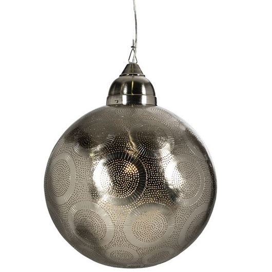 Picture of CARY pendant lamp d50cm nickel