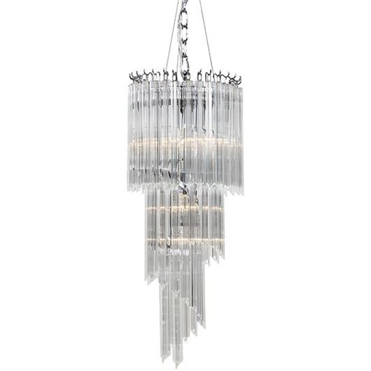 Picture of KING chandelier d30cm clear