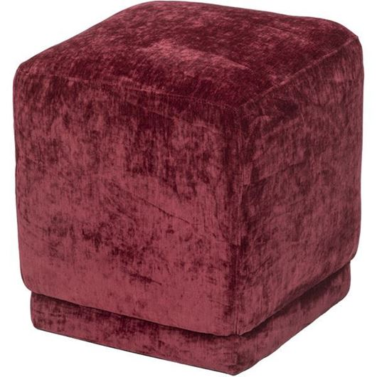 Picture of LOLO stool 40x40 red