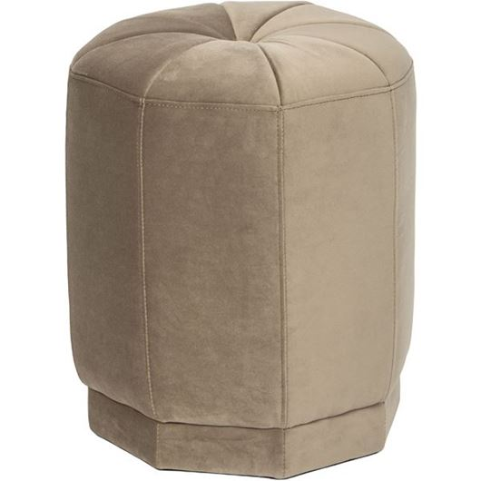 Picture of MODI stool d40cm beige