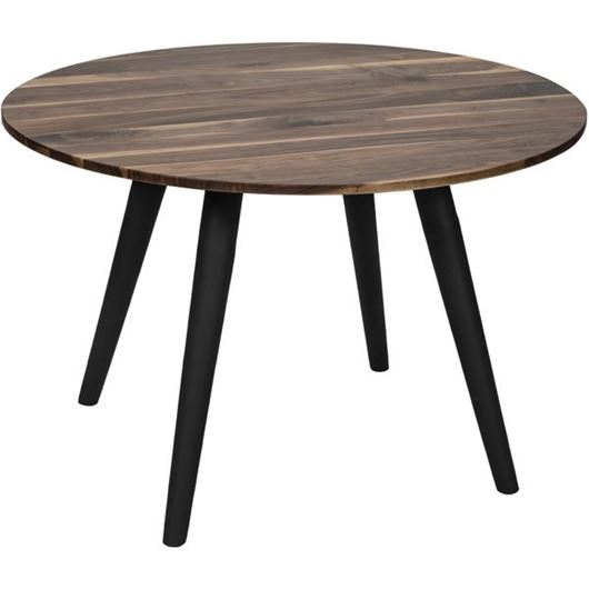 Picture of MAIN dining table d120cm brown/black