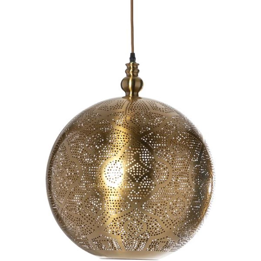 Picture of PANDH pendant lamp d40cm brass