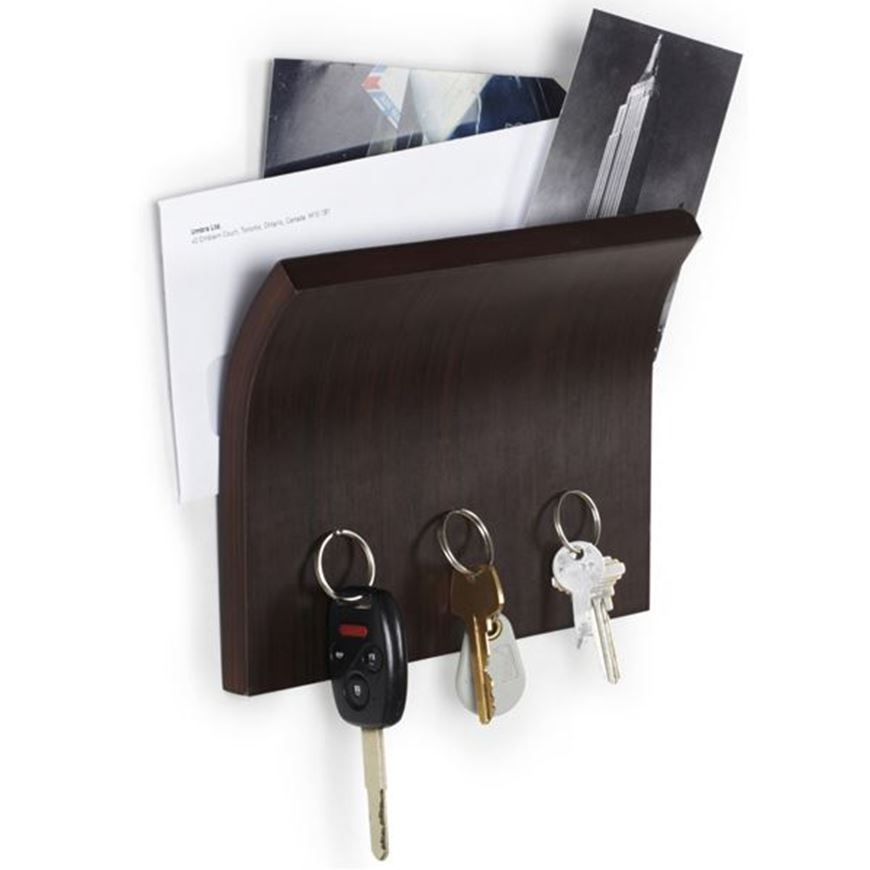 Picture of MAGNETTER key & letter holder dark brown