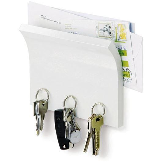 Picture of MAGNETTER key & letter holder white