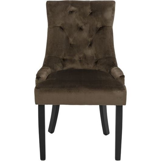 Picture of HALA dining chair brown/black
